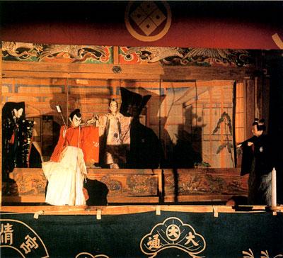 横瀬の人形芝居