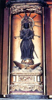 茂林寺の舟乗観音