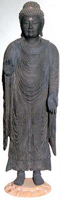 卜雲寺の清涼寺式釈迦如来立像