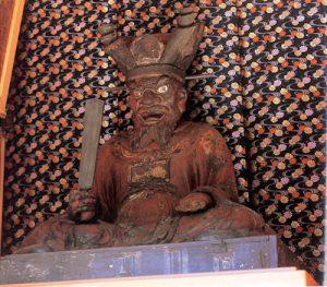 茂林寺の閻魔王像