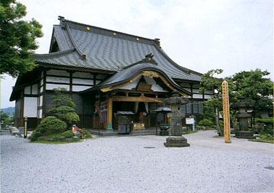 札所七番法長寺(牛伏堂)