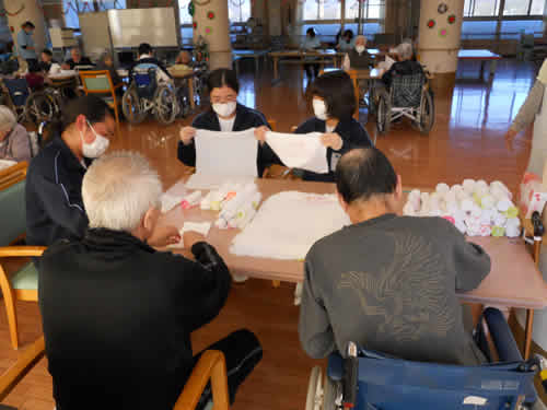 横瀬中学校の職場体験学習