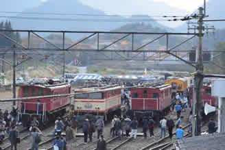 横瀬車両基地での「西武トレインフェスティバルin横瀬」